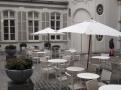 Patio residence kde pobýval Napoleon a dnes je tu nejlepší čokoládovna