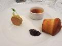 Creme brulée z kachních jater foie gras s rozpečenou brioškou