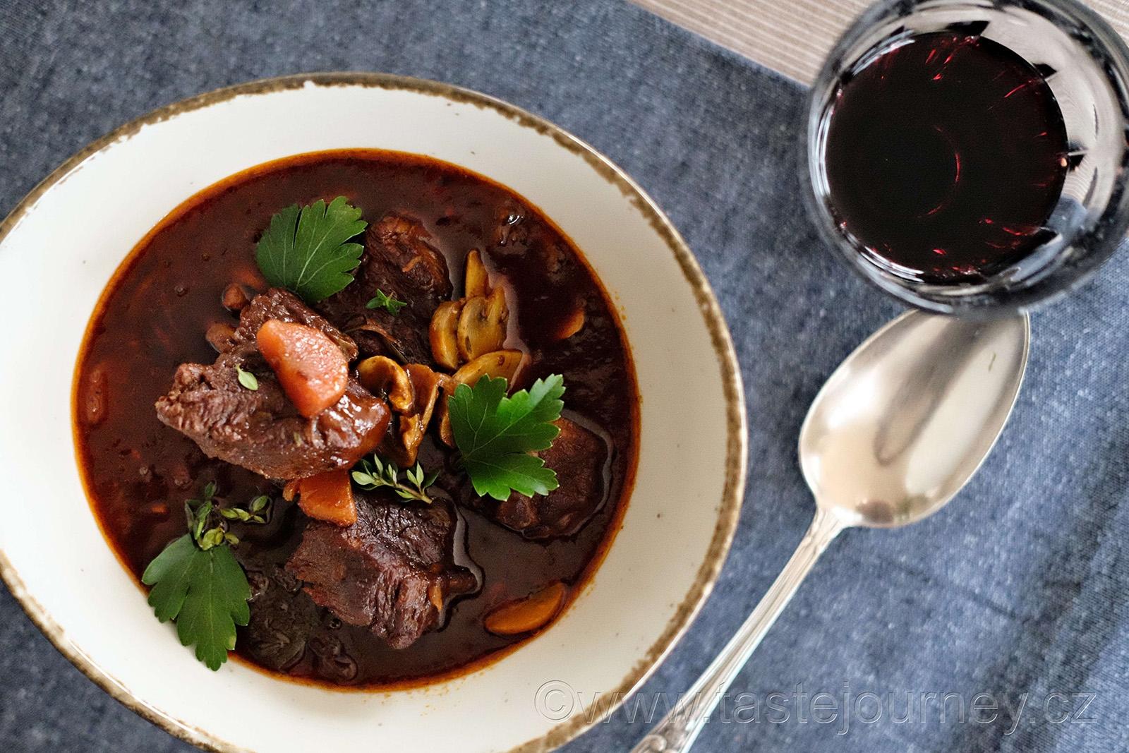 Gurmánské dědictví francouzské kuchyně - Beef bourguignon