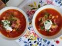Boršč - nachově červená silná polévka