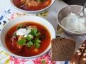 Komfortní a zahřívací polévka - to je boršč!