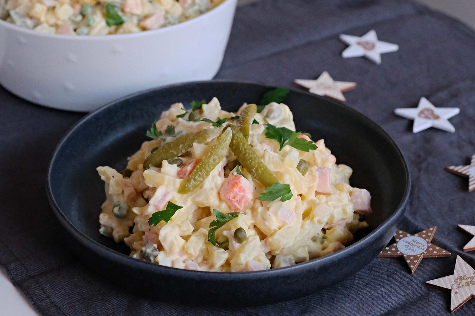 Původně se bramborový salát dělal ze surovin co dům dal.