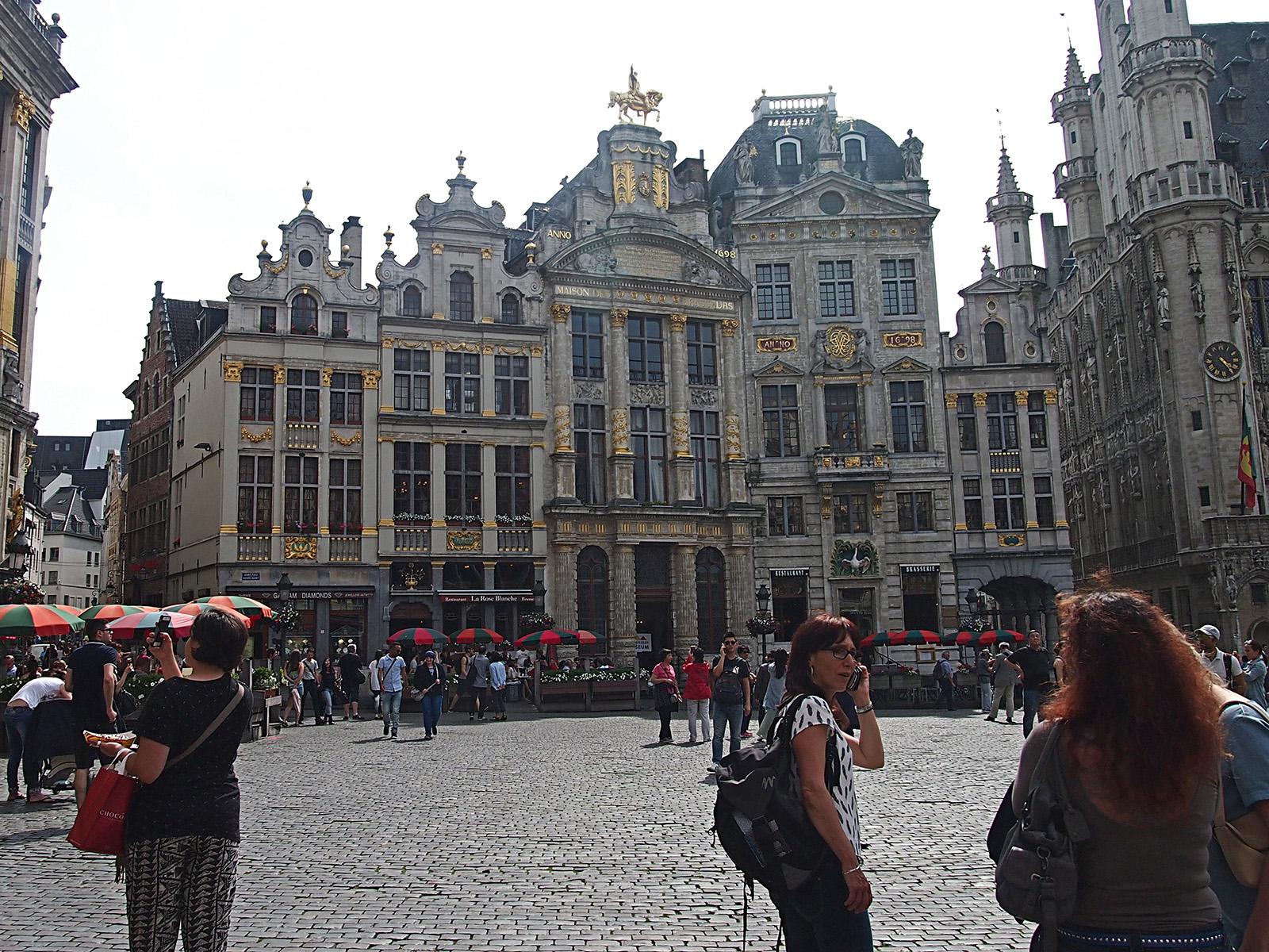 Mnozí tvrdí, že náměstí Grande-Place je nejpůvabnější na světě