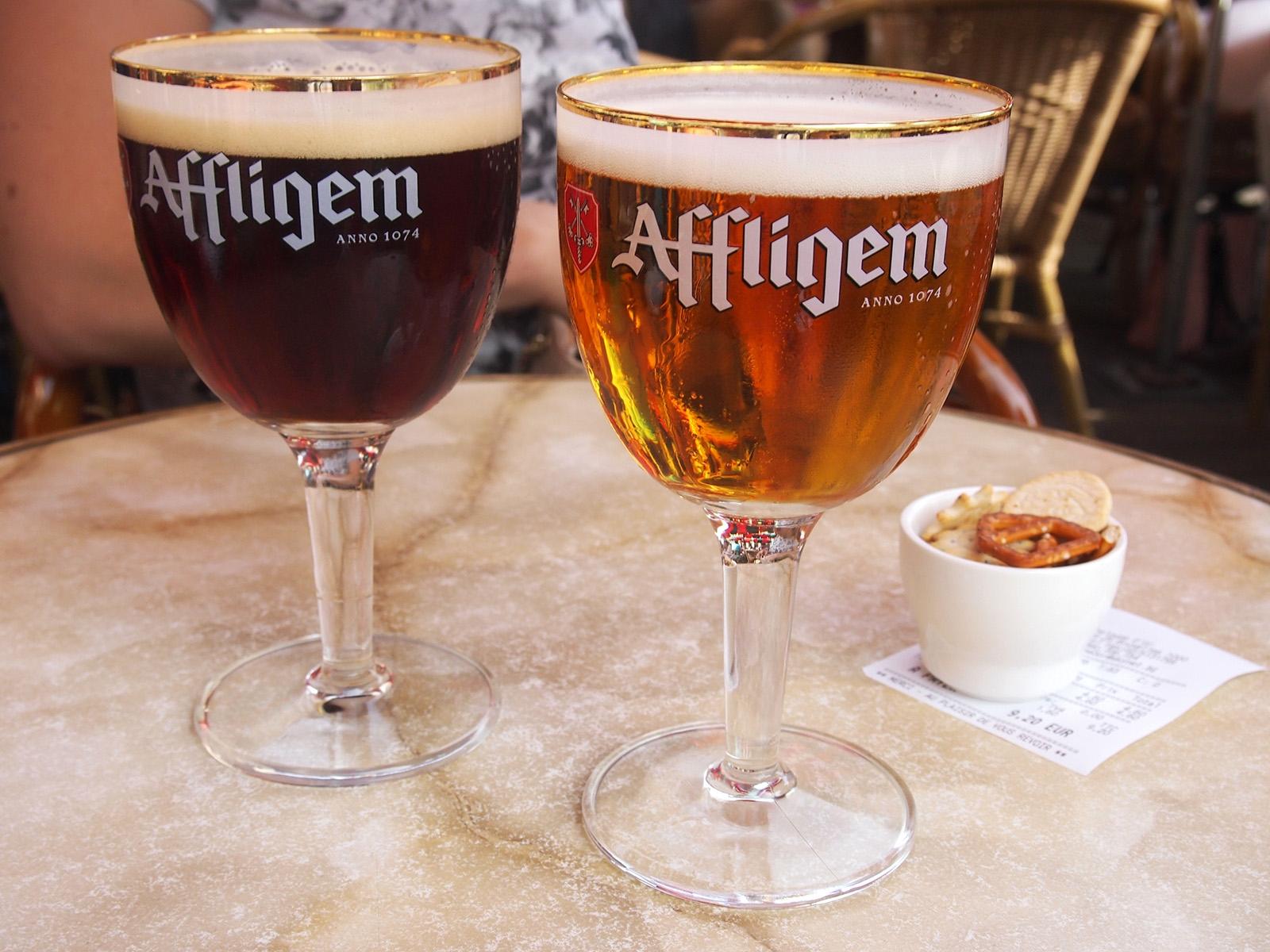 Belgické pivo Affligem, založené roku 1074