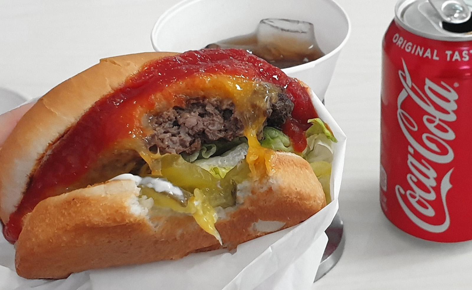 Nevím proč, je ale snad nejlepší burger, co jsem kdy jedla