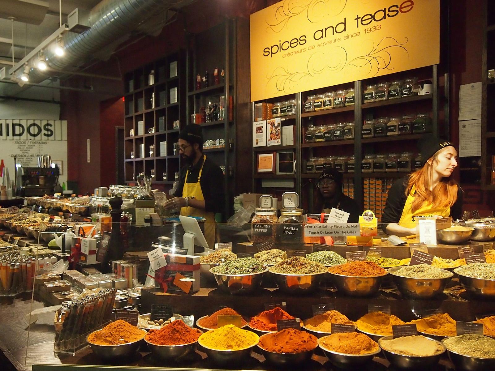 Spices a tease, koření a čaje z celého světa