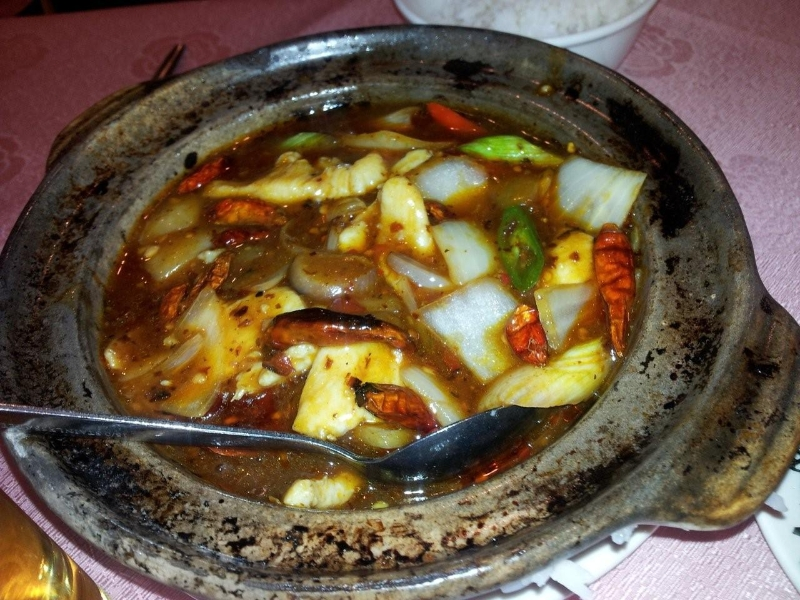 Chilli hot pot.