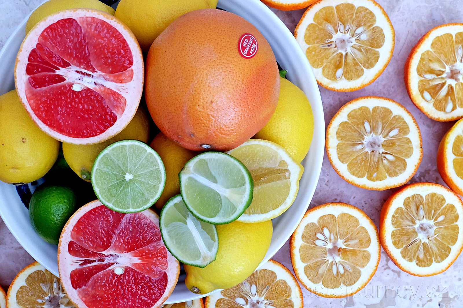 Sevilské pomeranče a ostatní citrusy na marmeládu