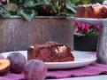 Mangle, čokoláda a blumy - dokonalé spojení v dekadentním dortu