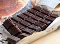 Na ganache se používá kvalitní hořká čokoláda