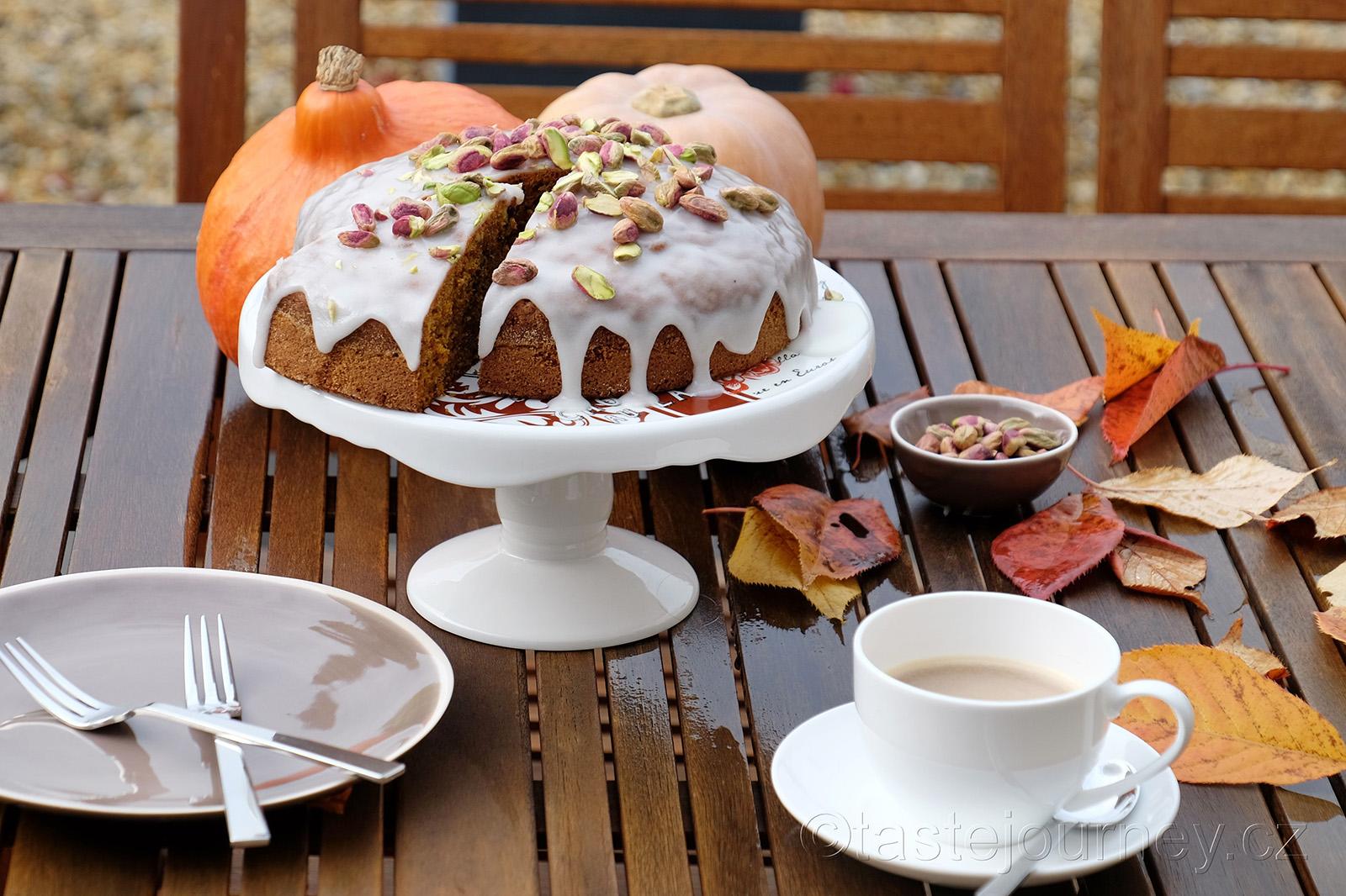 Mrkvový dort s dýní ke kávě či čaji patří k podzimu