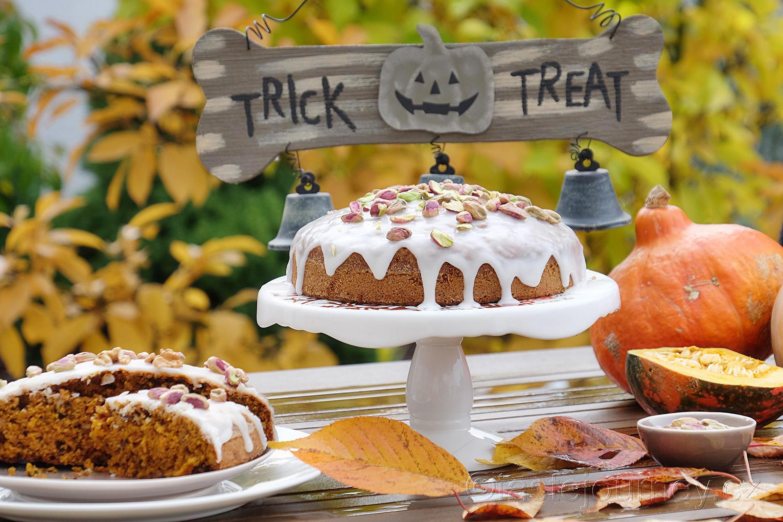 Ideální halloweenský dort