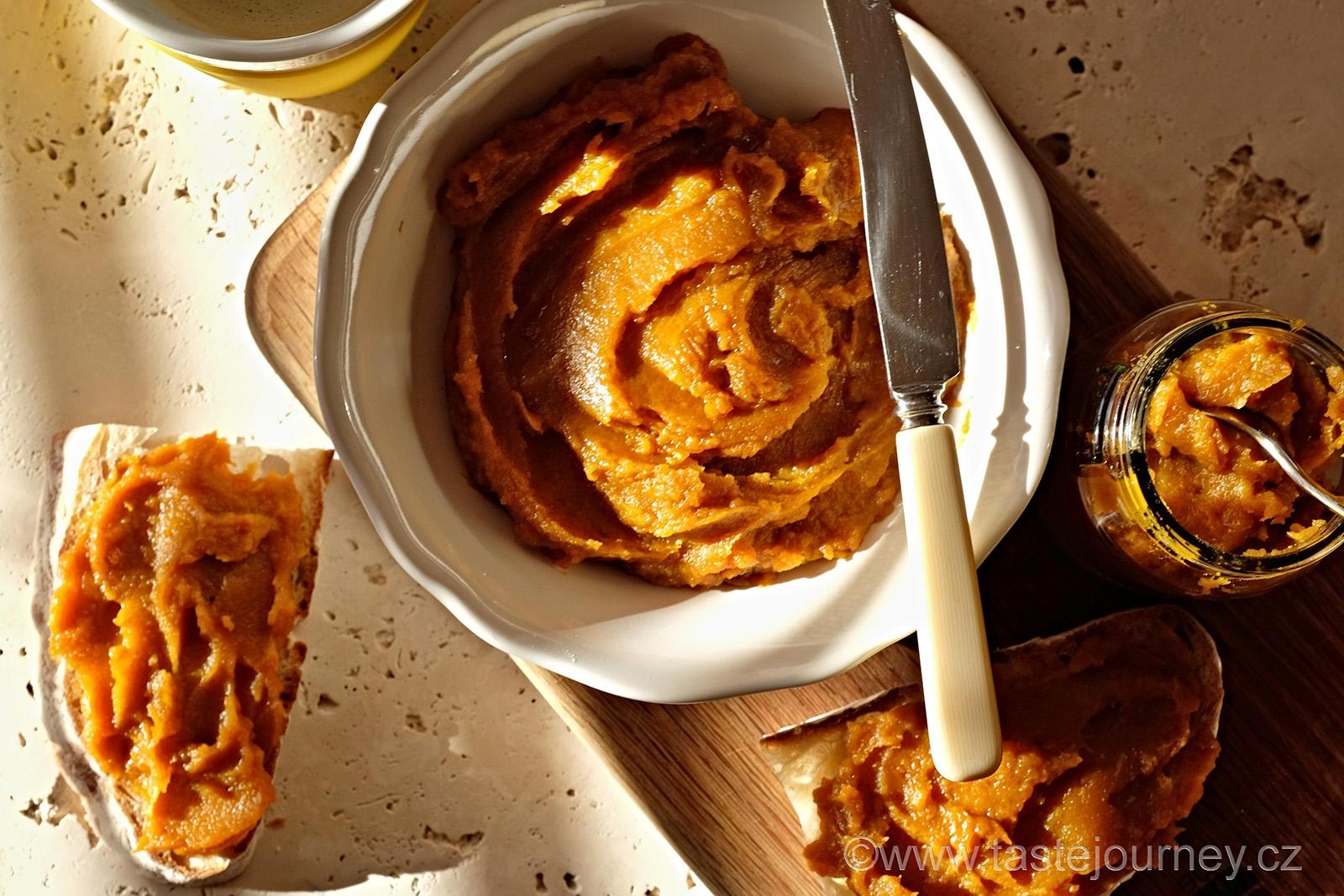 Podzimní zdravá pochoutka - dýňové máslo