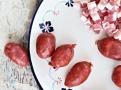 Chorízo klobásky a bůčková slanina dodají fazolovému hrnci chutě