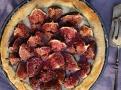 Hotový fíkový dort v gorgonzole