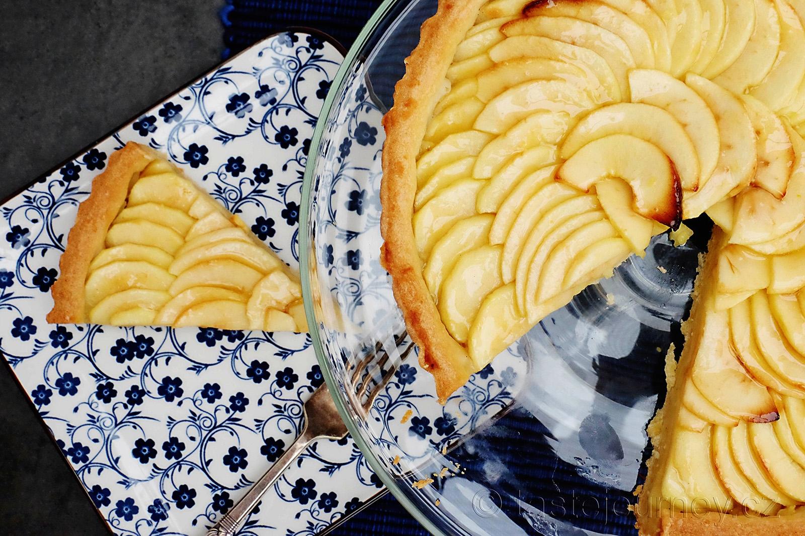 Sladké těsto v dokonalé kombinaci s jablky