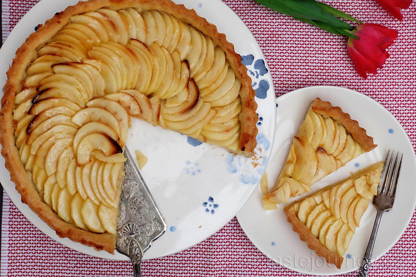 Klasický francouzský tarte aux pommes