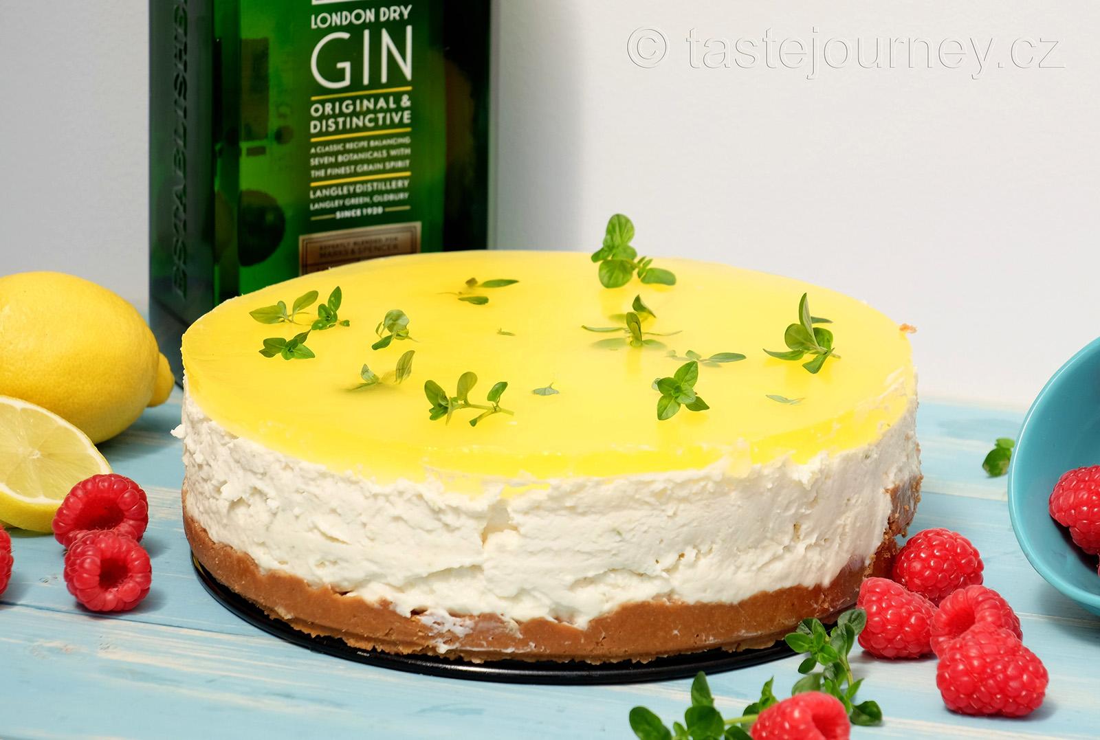 Když gin and tonic potká cheesecake...