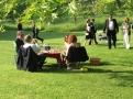 Glyndebourne - piknik před představením