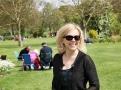 Koncert začínám piknikem a procházkou v rozlehlém parku