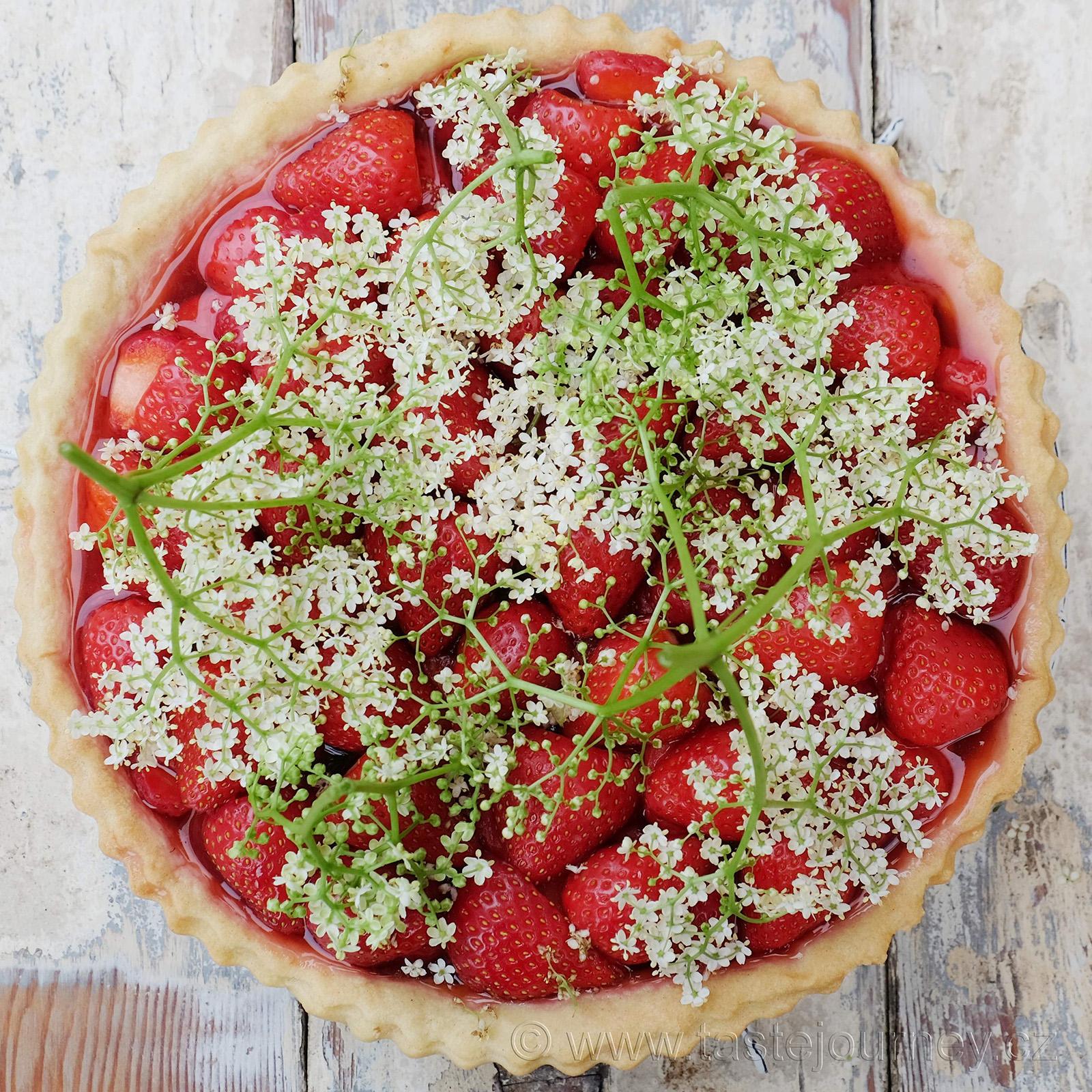Letní pokušení - jahody a bezinky