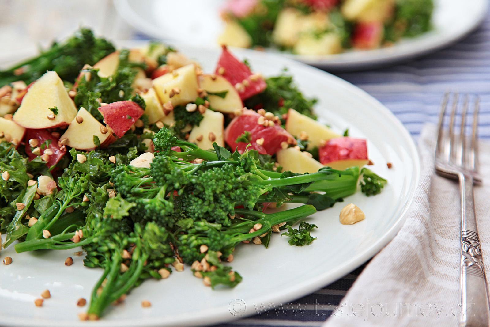 Brokolici zvolte stonkovou, má jemnou chuť