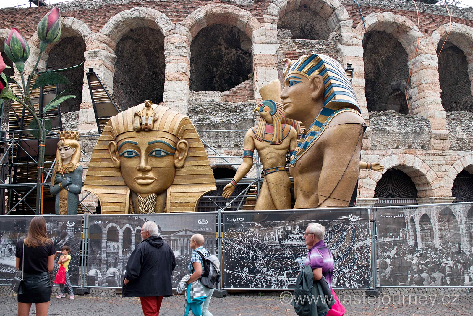 Verona je vyhlášena operním létem v amfiteátru
