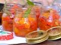 Chilli rajčátka a vzpomínka na léto ve sklenici