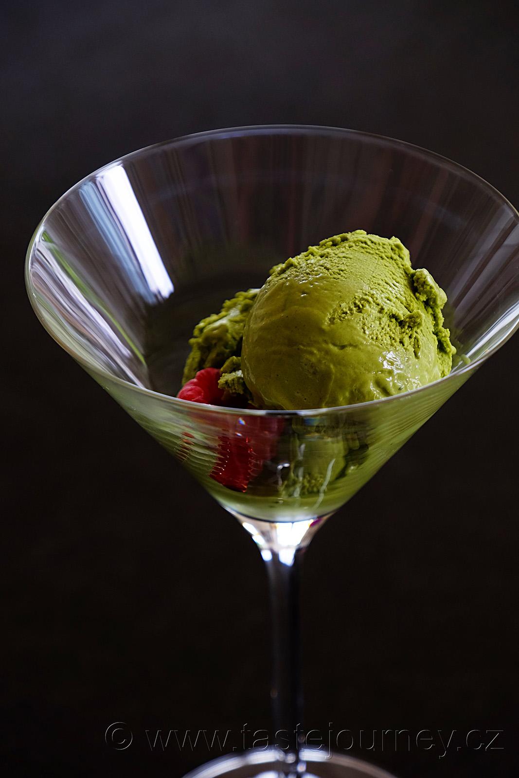 Specifická chuť i zdravotní benefity - matcha zmrzlina