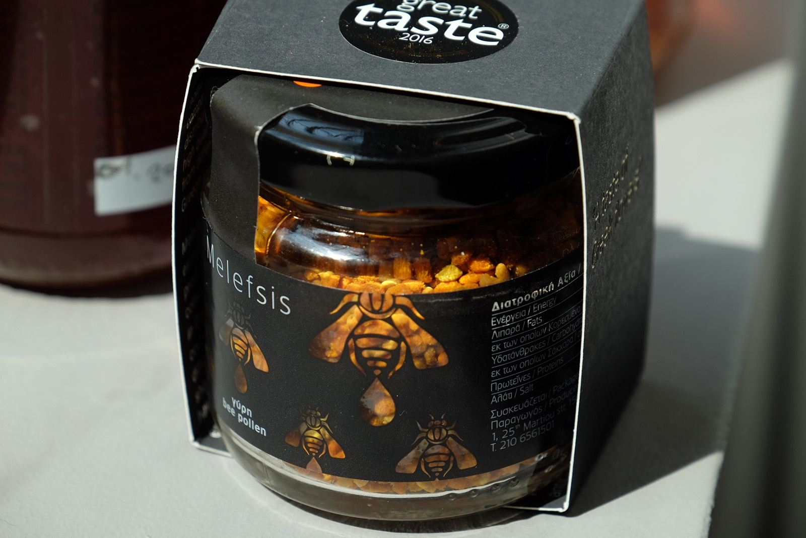 Pylová zrnka s oceněním Great Taste