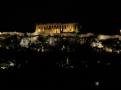 Akropolis neboli nejvyšší vrchol Athén se svým chrámem Parthenónem