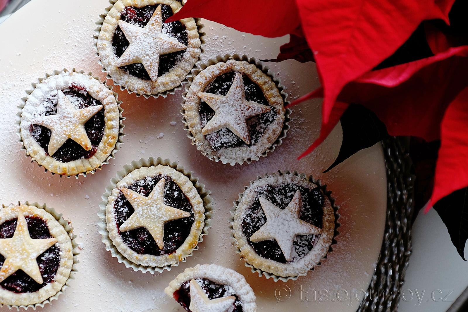 Britská esence Vánoc - mince pie