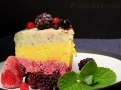 Porce mraženého dortu láká k osvěžení