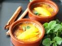 Zapečený nákyp z konjac rýže doplňte mangem