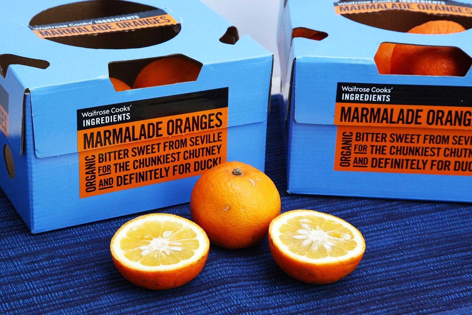 Sevilské pomeranče jsou v Británii velmi oblíbené