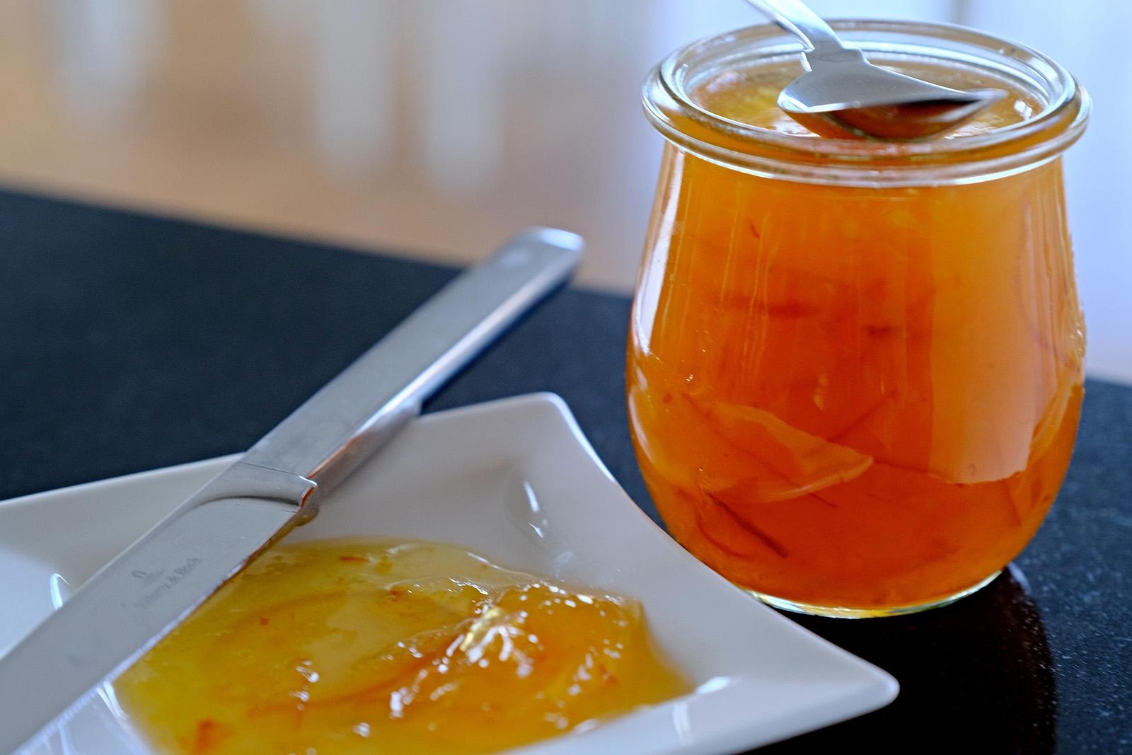 Skvělá marmeláda z pomerančů a ananasu