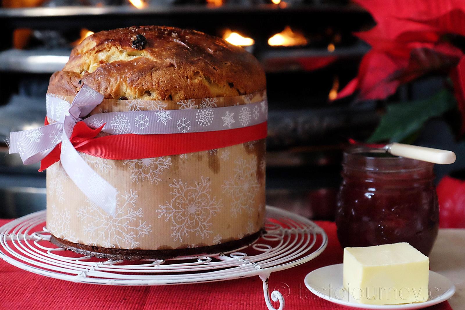 Italská vánoční pochoutka pannettone