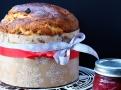 Pannettone jako sladký vánoční chléb