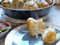 Mozzarella se po upečení krásně táhne