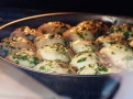 Pečte v horké troubě asi 20 minut