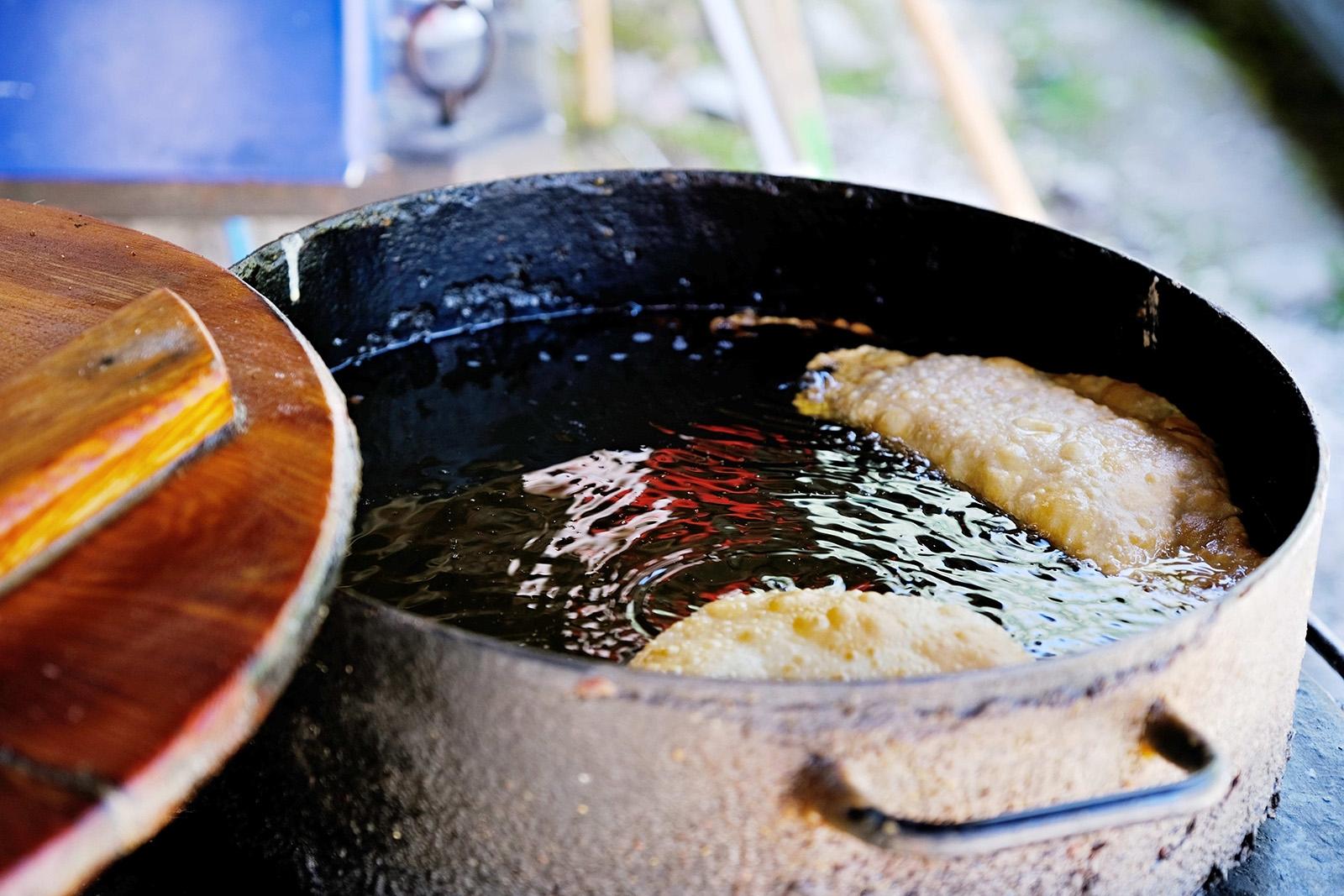 Dva velké hrce plné oleje, tedy pro nasladko i naslano