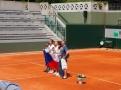 Vítězné české juniorky ve čtyřhře