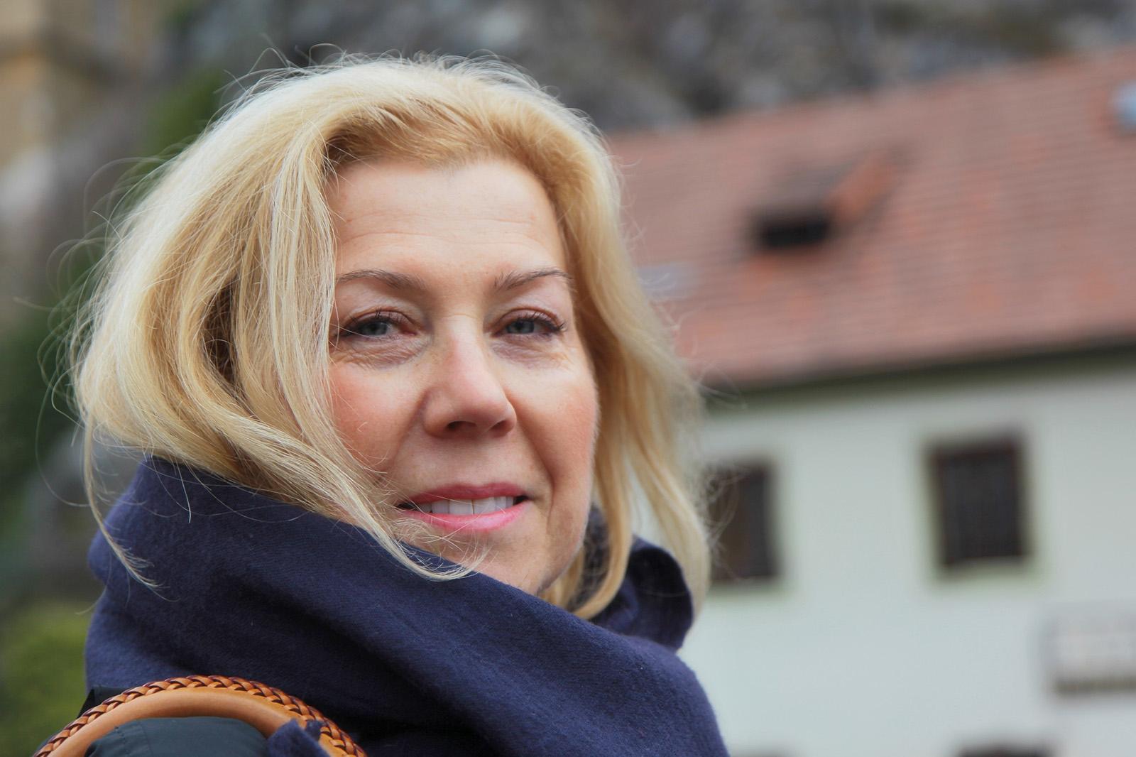 Fotky z Českého Krumlova, kde jsem natáčela pro TV sérii Kouzelné bylinky