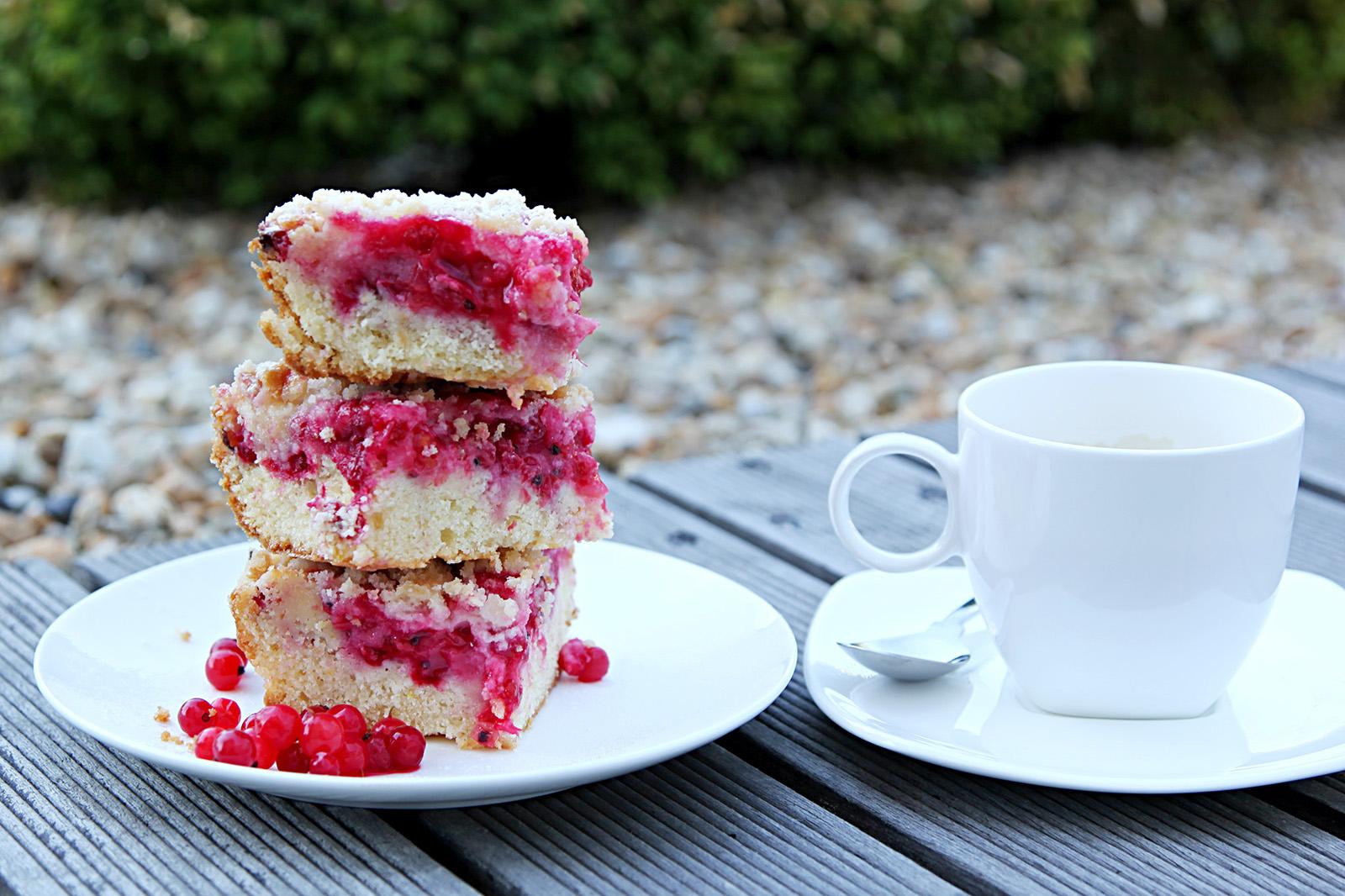 Rybízovým koláčem začíná léto