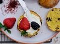 Šafránové bochánky jsou ideálním dezertem