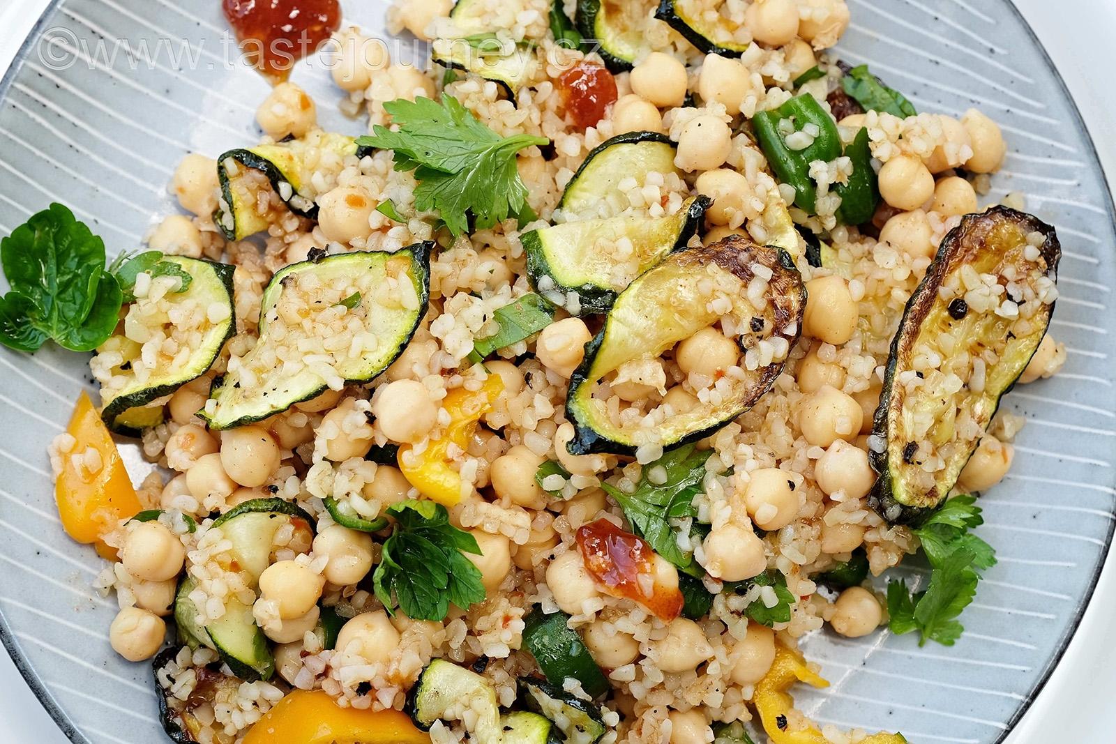 Pikantnost salátu regulujte podle druhu použitých papriček