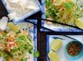 Zelená papája je tradiční surovinou do exotického salátu