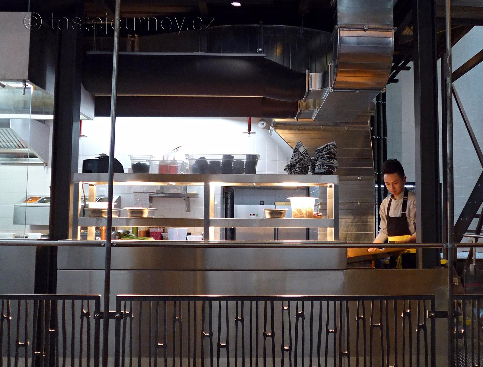 Moderní prostor Sia restaurace