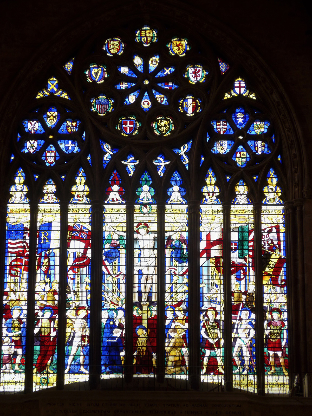 Vitráže v katedrále v St. Albans
