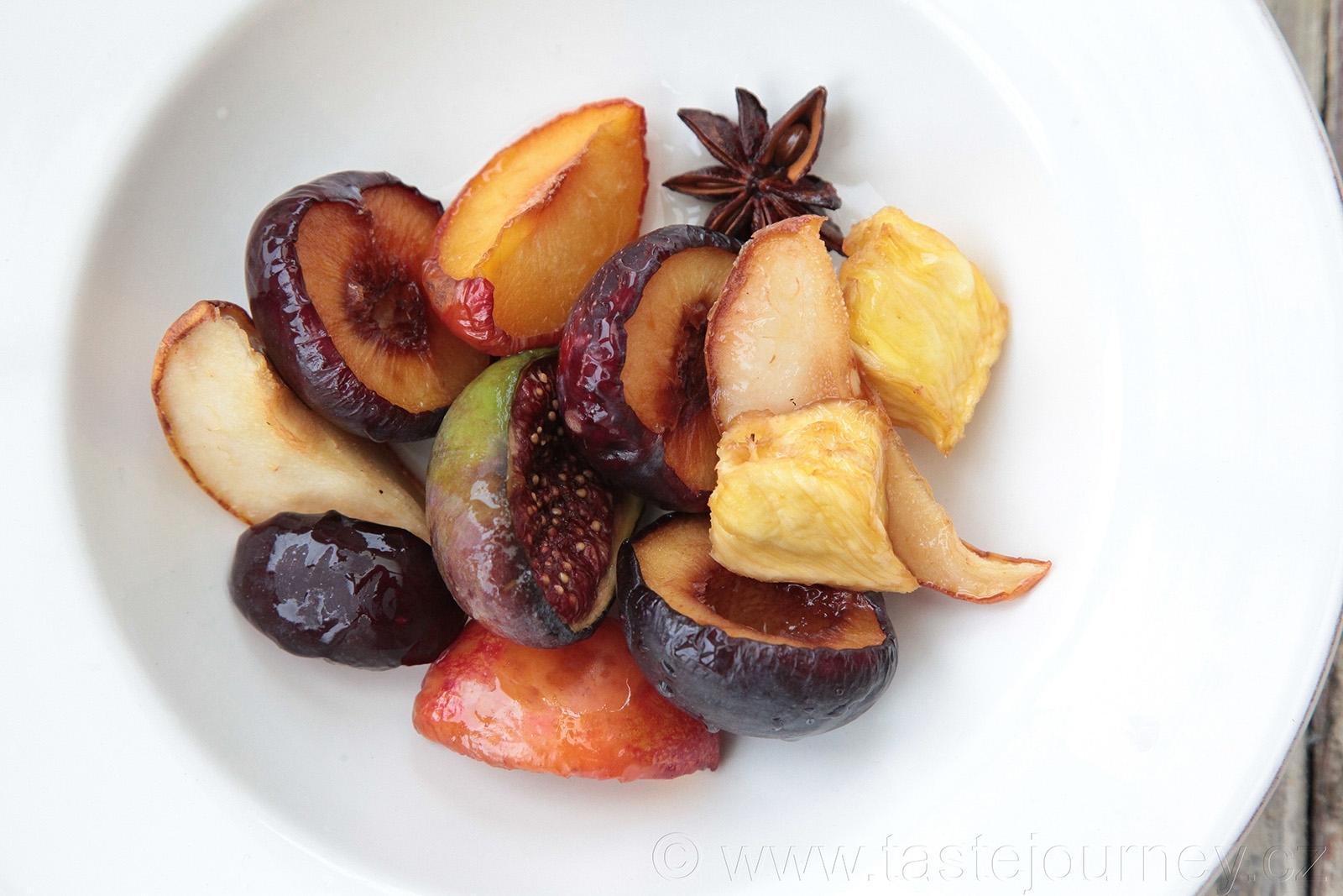 Neotřelý dezert z částečně sušeného ovoce láká